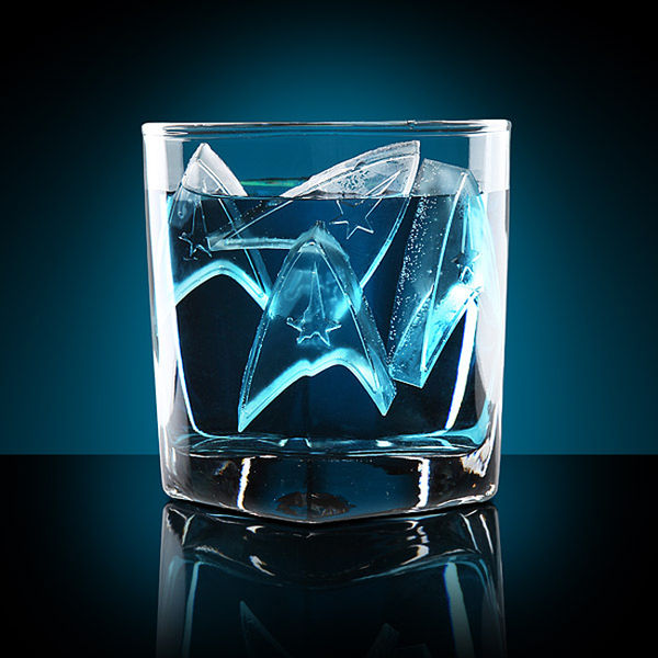 Star Trek Ice Cube Trays