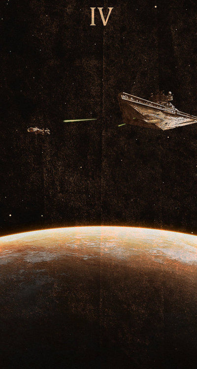Cinematic Spaceship Posters