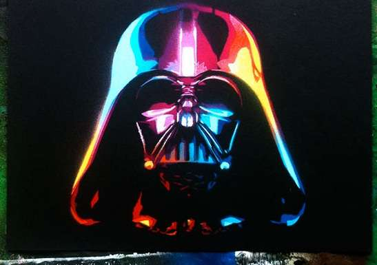 Kaleidoscopic Dark Side Drawings