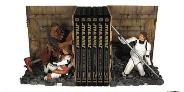 Dramatic Star Wars Bookends