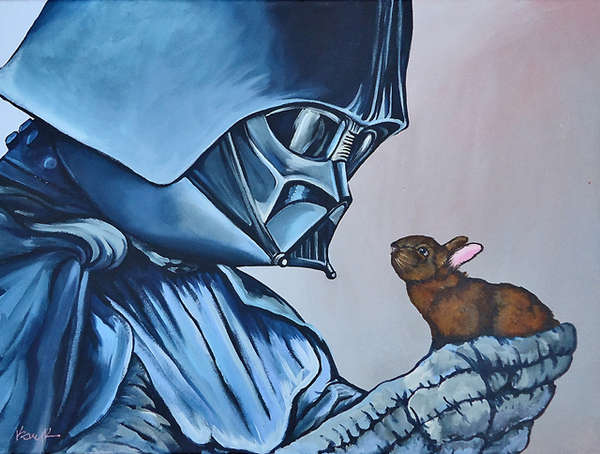Star Wars Bunny Art