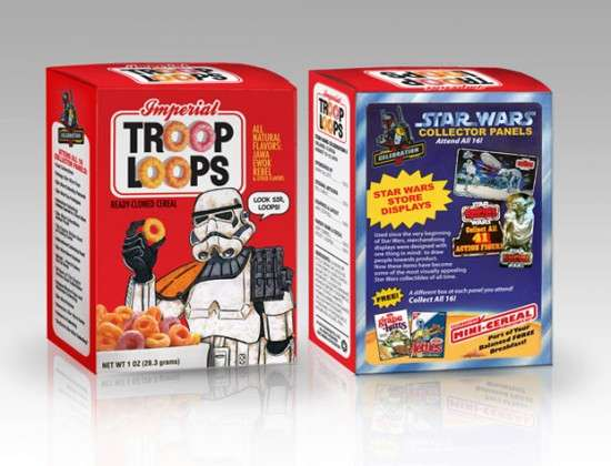 Star Wars Cereals Mini-Boxes