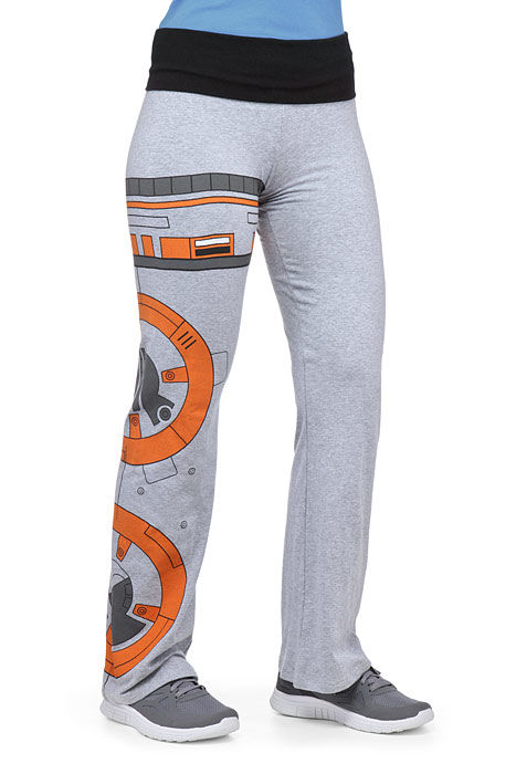 Droid-Decorated Yoga Pants