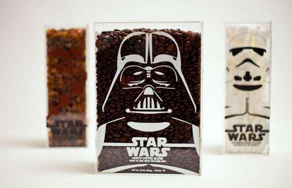 Sci-Fi Caffeine Packaging