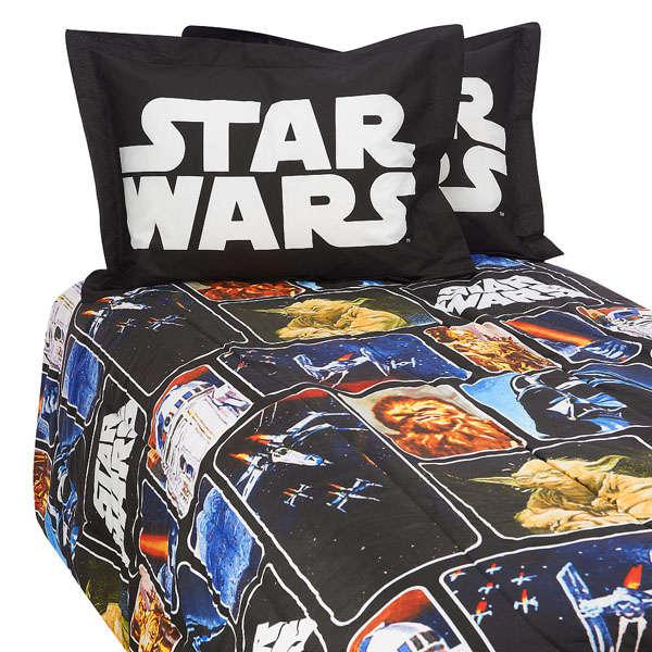 Retro Sci Fi Bedspreads Star Wars Comforter