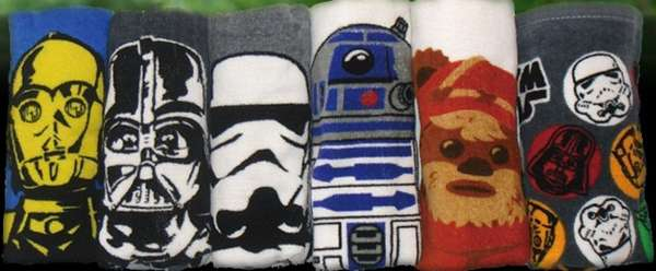 Star Wars Face Towel Set