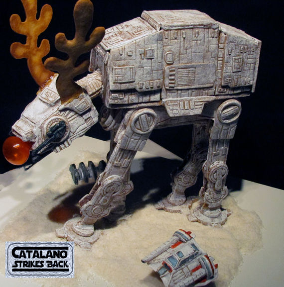 Massive Sci-Fi Gingerbread Structures