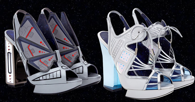Couture Sci Fi Shoes Star Wars High