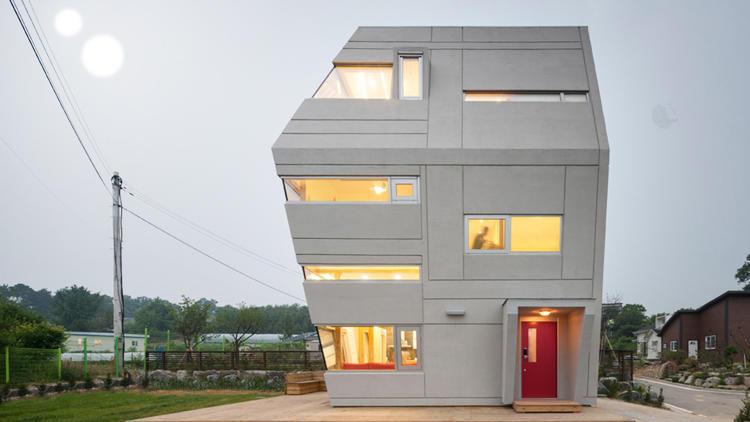 Brutalist Sci-Fi Houses