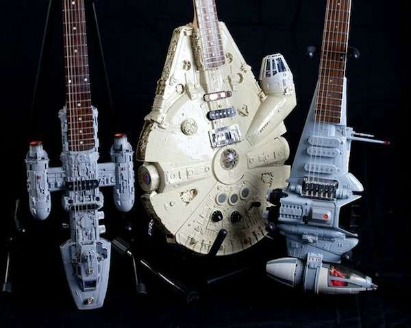 Geeky Sci Fi Mimicked Guitars Star Wars Instruments