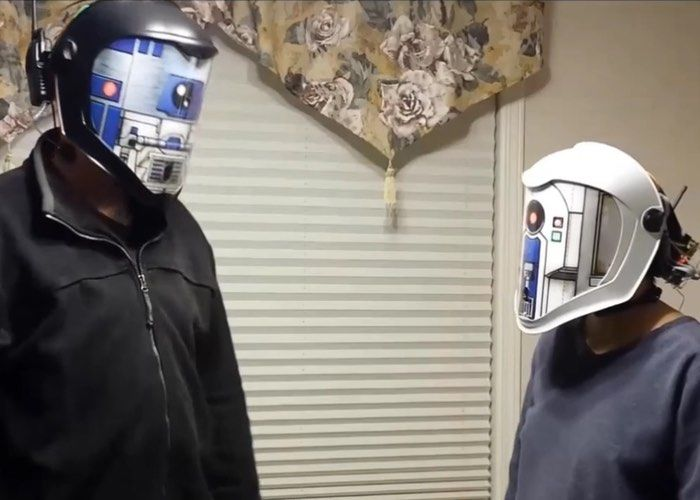 Voice-Translating Movie Masks