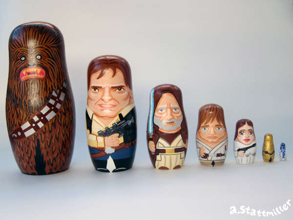 Sci-Fi Matryoshka Dolls