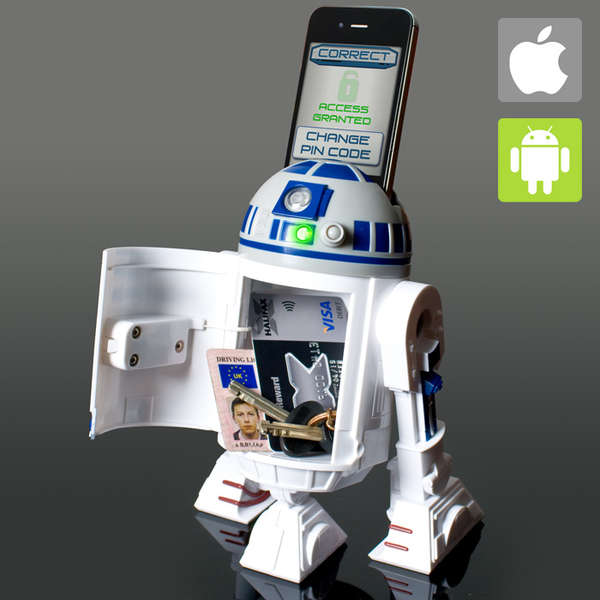 Sci-Fi Robot Safes