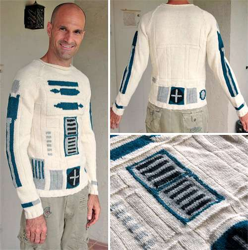 Cozy Sci-Fi Knitwear