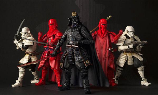 Intergalactic Samurai Toys