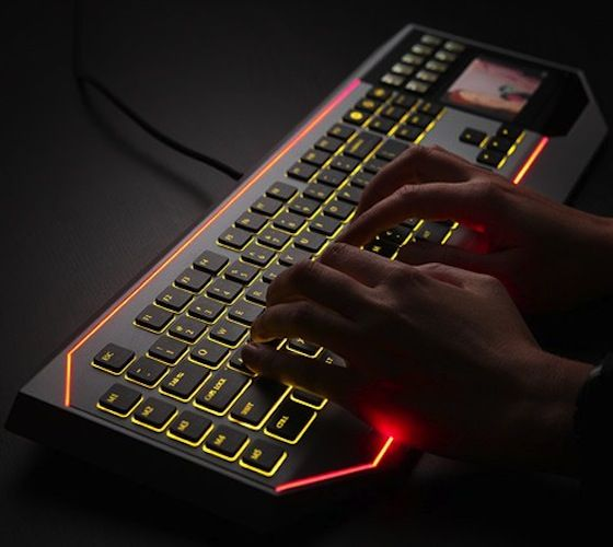 Galactic Touchpad Keyboards