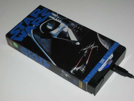 Star Wars VHS Hard Drive