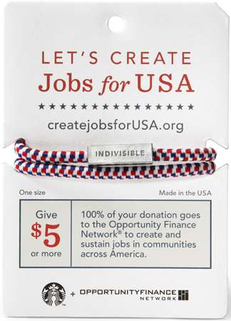 Starbucks Create Jobs for USA