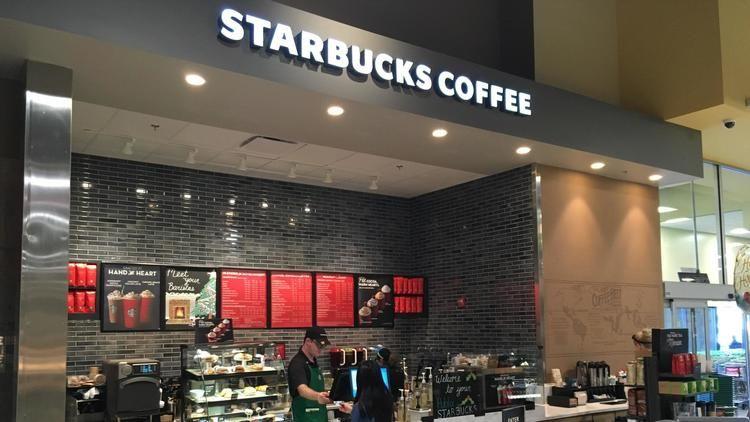 Grocery Store Coffee Kiosks Starbucks Kiosk