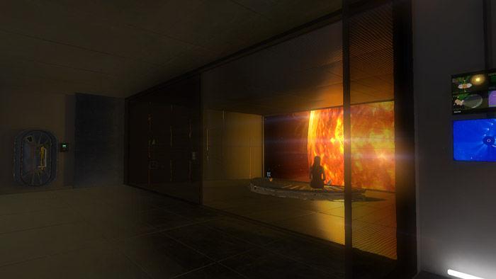 Sun-Gazing Simulations