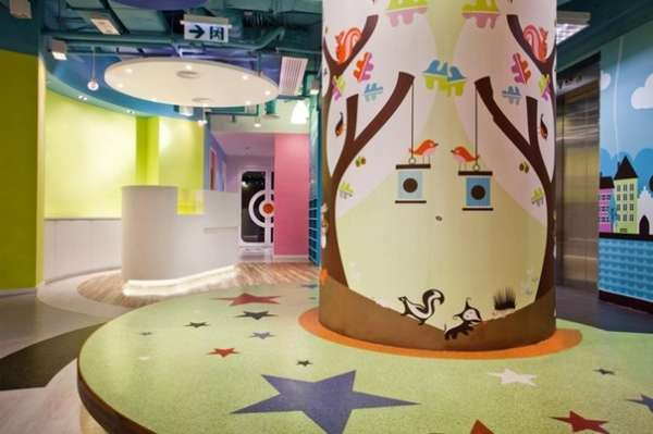 Whimsical Child-Centric Walls