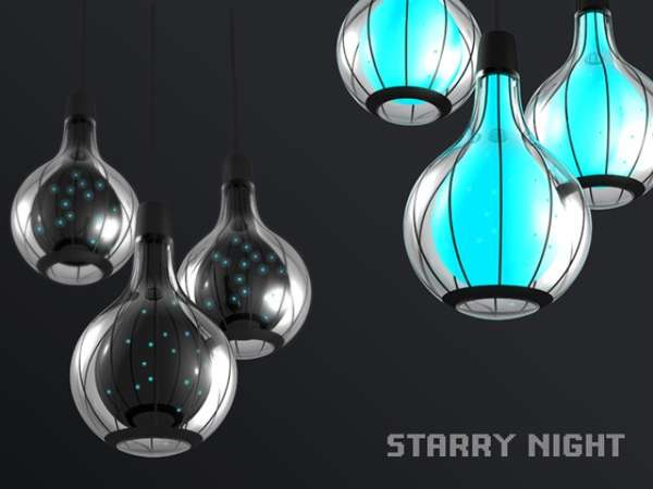 Starry Night Lamp