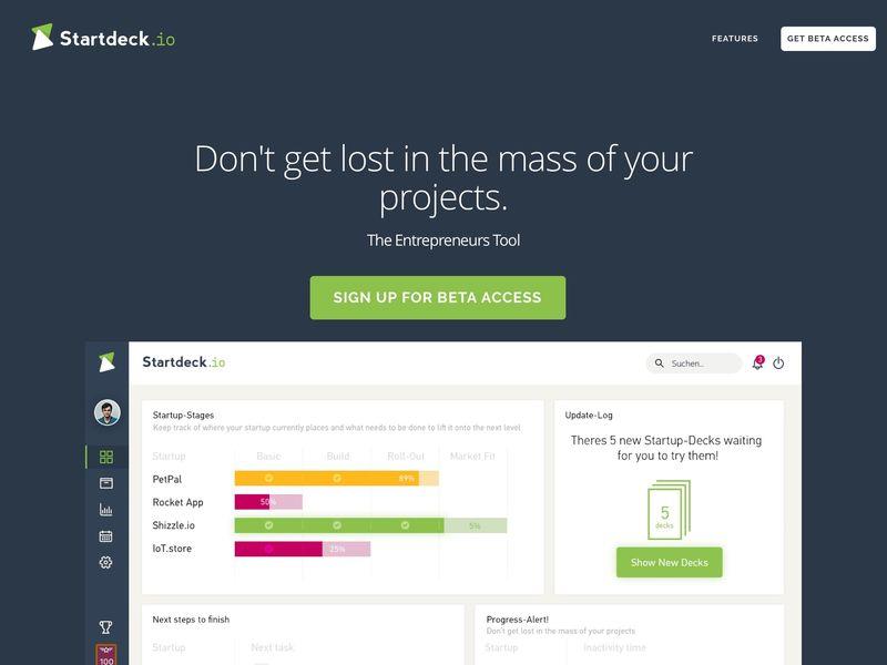 Entrepreneur Planning Apps
