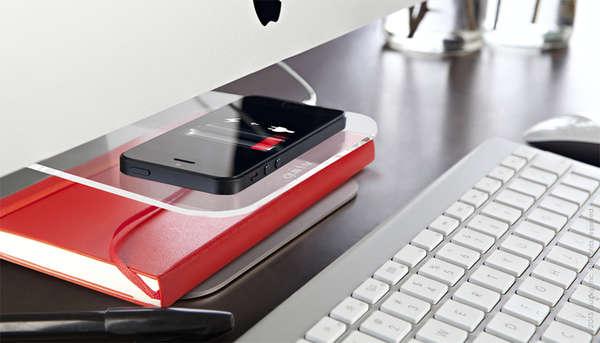 Discrete Desktop Trays
