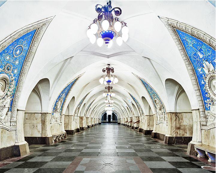 Opulent Metro Stations