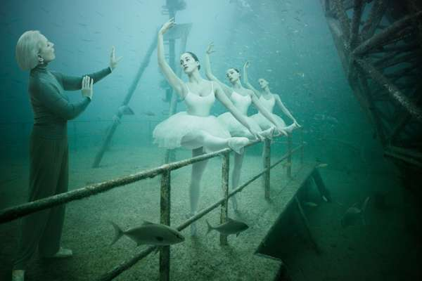 Underwater Human Life Photography
