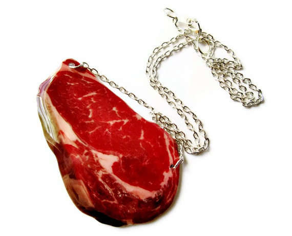 Steak Necklace