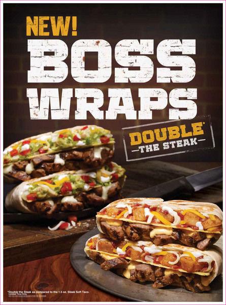 Customizable Steak Wraps