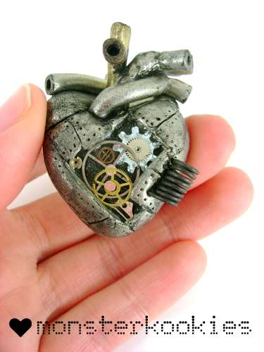 Steampunk Anatomical Trinkets