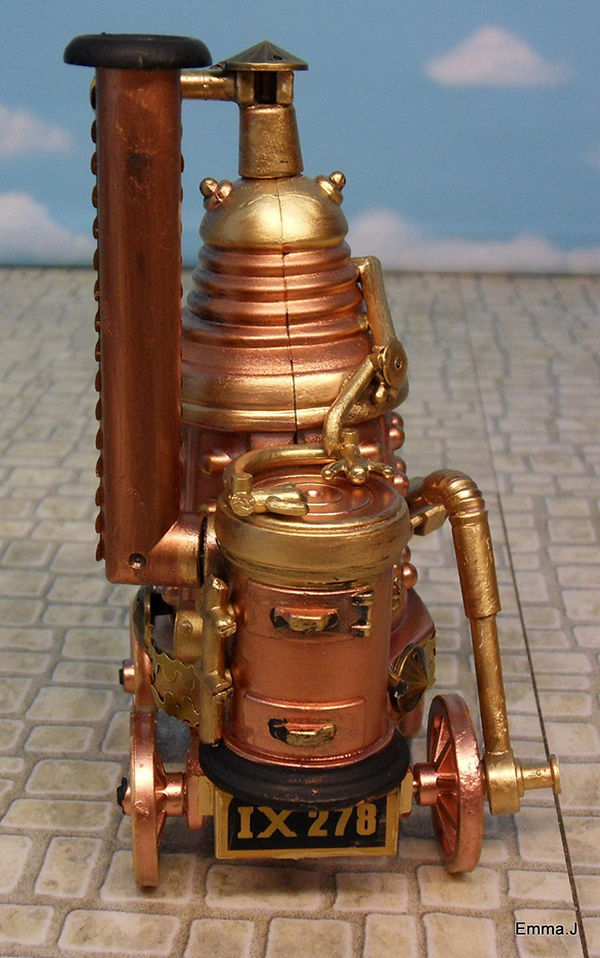 Sci-Fi Steampunk Creations