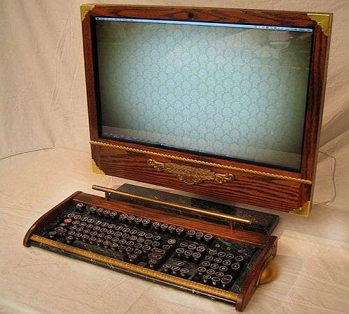 Steampunk Macs Old Time Computer