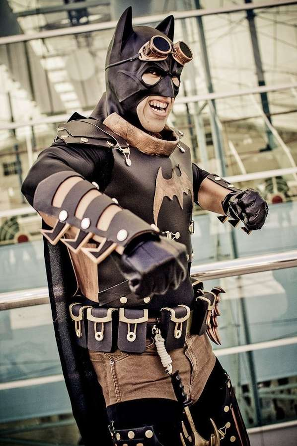 Steampunk Superhero Ensembles
