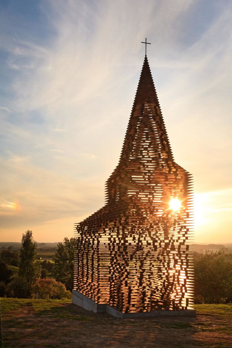 Translucent Steel Churches