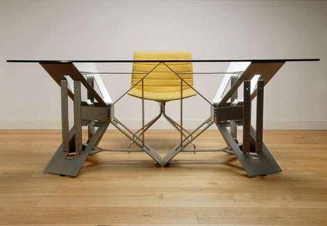 Single-Sheet Steel Desks
