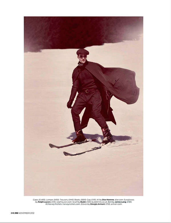 Retro Skier Editorials