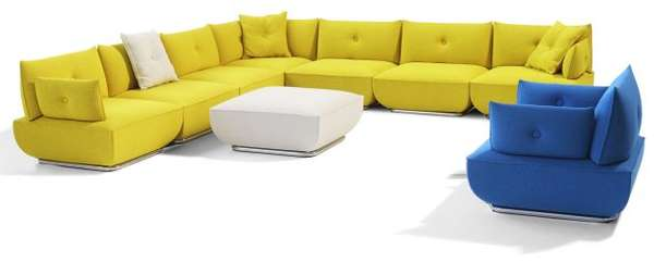 Modular Cushion Couches