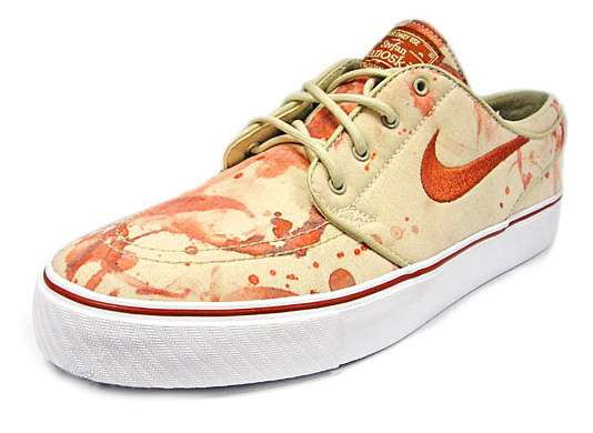 Bloody Skateboard Shoes