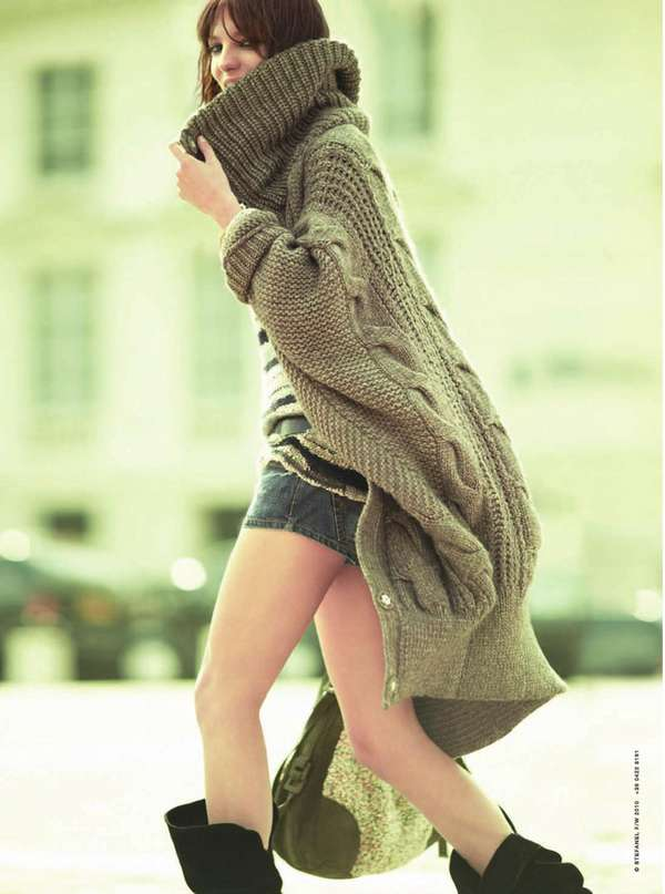 Jumbo-Sized Sweaters