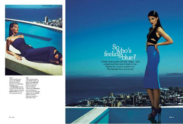 Indigo-Inspired Editorials