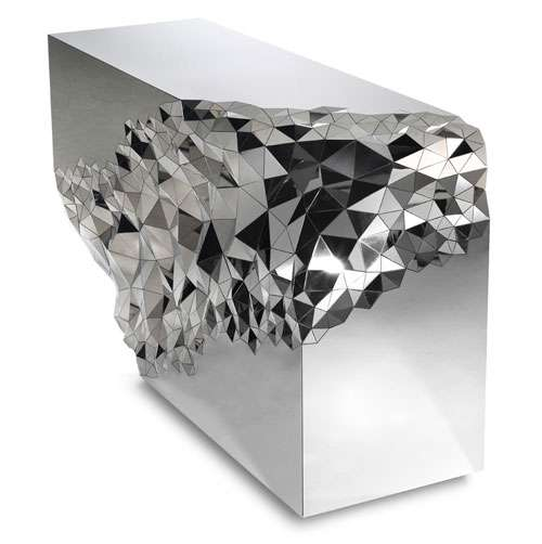 Geometrically Mirrored Furniture