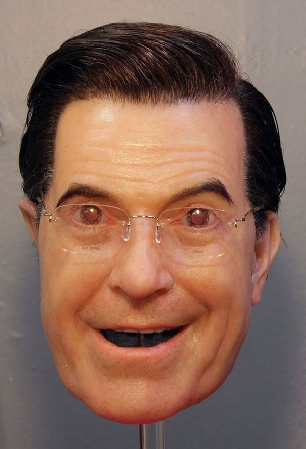 Terrifying Celebrity Masks