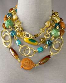 Stephen Dweck Four-Strand Necklace