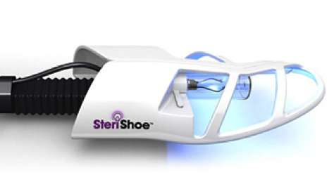 Luminescent Sneaker Sterilizers