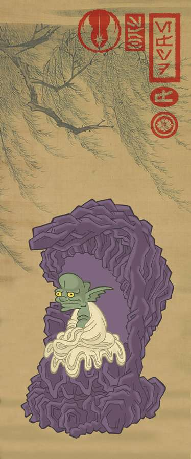 Samurai Star Wars Art