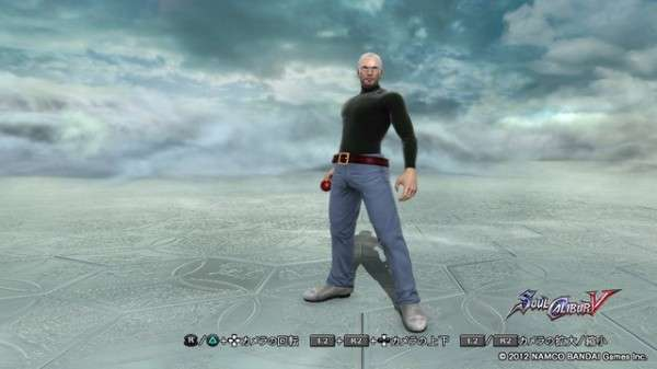 Steve Jobs in Soulcalibur