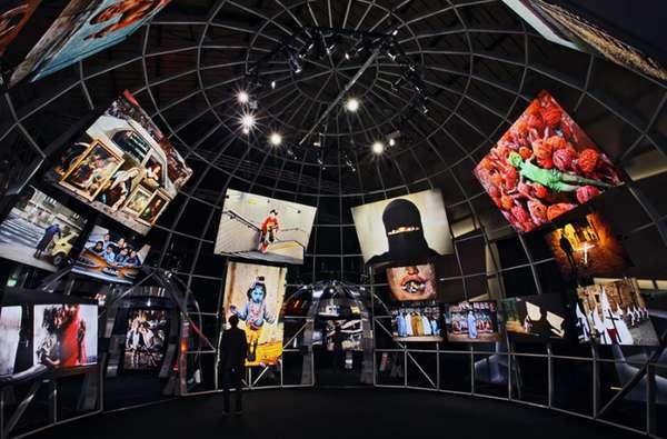 Spherical Photographic Displays